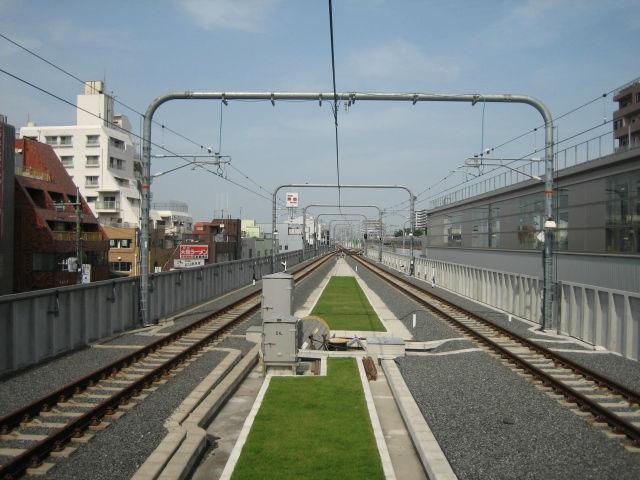 鉄道付帯構造部