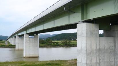 鋼連続2主鈑桁橋
