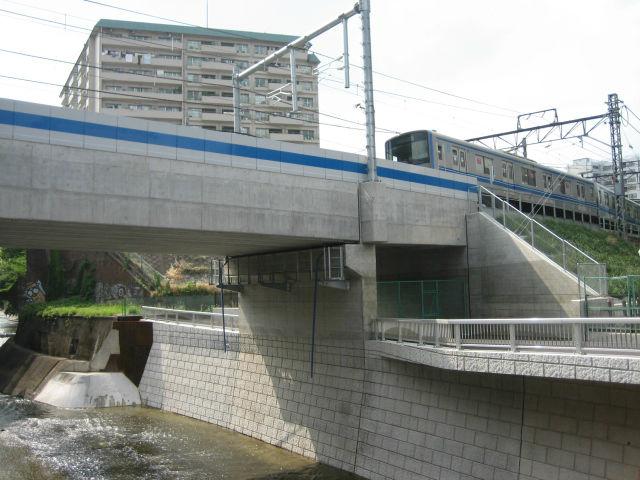 河川橋梁部構造物